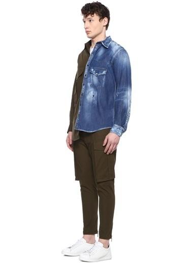 Dsquared2 Pantolon Yeşil